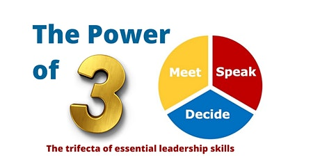 The Power of 3 - Trifecta of Essential Leadership Skills tickets