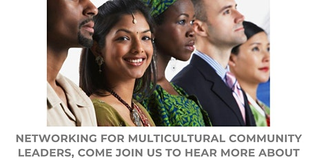 Multicultural Community Leader's Networking - July 2020.2 tickets