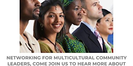 Multicultural Community Leader's Networking - October 2020 tickets