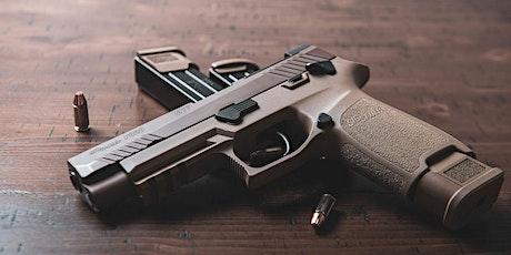 Tiro Operativo con Pistola (livello INTRODUTTIVO II) biglietti
