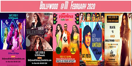 Bollywood February tickets