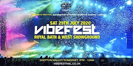 VIBE FESTIVAL 2020 tickets