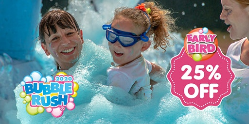 Bubble Rush Oxford 7 June 2020