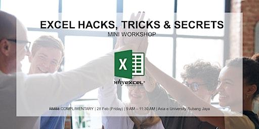 EXCEL HACKS | Mini Workshop
