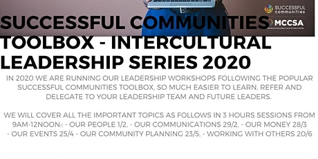 Successful Communities - Intercultural Leadership: Toolbox Series - Leading by Working with Others 20/6 tickets