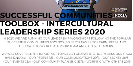 Successful Communities - Intercultural Leadership: Toolbox Series - Leading Our Community Planning 23/5 tickets