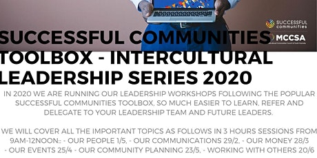 Successful Communities - Intercultural Leadership: Toolbox Series - Leading Our Events 25/4 tickets