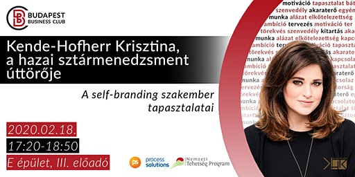 Kende-Hofherr Krisztina, a hazai sztármenedzsment úttörője