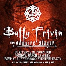 Buffy the Vampire Slayer Trivia tickets
