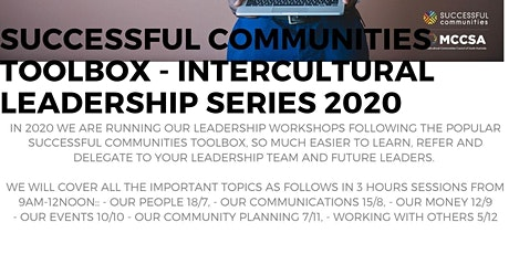 Successful Communities - Intercultural Leadership: Toolbox Series - Leading by Working with Others 5/12 tickets