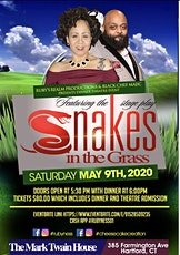 A evening of Dinner & Theatre featuring the  stage play Snakes in the Grass tickets