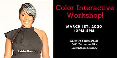 Color Interactive  Workshop tickets