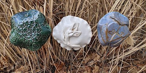 Pottery Garden Art