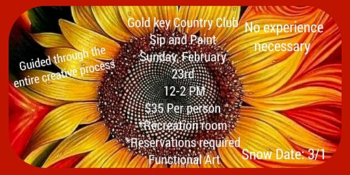 Gold Key Country Club Sip and Paint