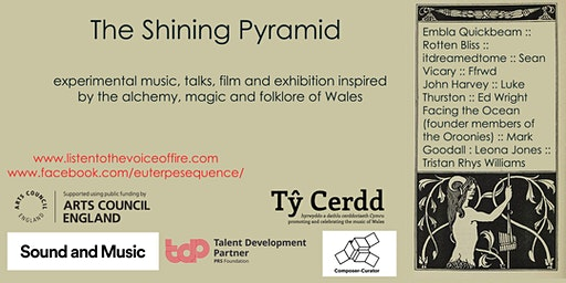 The Shining Pyramid-Experimental music concerts, talks and film