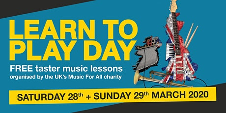 Learn to Play Day @ Saltaire Early Music Shop tickets