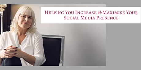 SOCIAL MEDIA WORKSHOP WITH SAMANTHA CAMERON - SOCIAL MEDIA EXPERT tickets