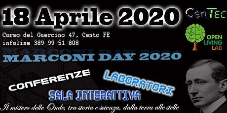 Marconi Day 2020 biglietti