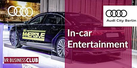 VR Business Club bei Audi zur Berlinale - Trends zum immersiven Fahrerlebnis der Zukunft Tickets