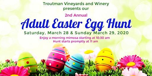 2nd Annual Adult Easter Egg Hunt
