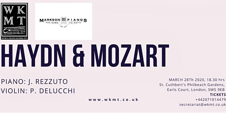 CLASSICAL CONCERT IN LONDON - MOZART VIOLIN CONCERT NR1 - Cancelled! tickets