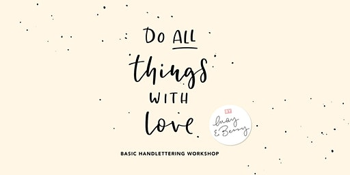 Basic Lettering Workshop 1. April 2020