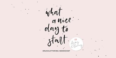 Basic Brushlettering Workshop 23. April 2020 tickets