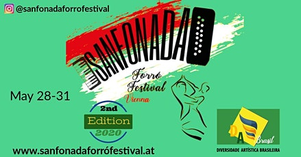 Sanfonada Forró Festival Vienna - 2nd edition! tickets