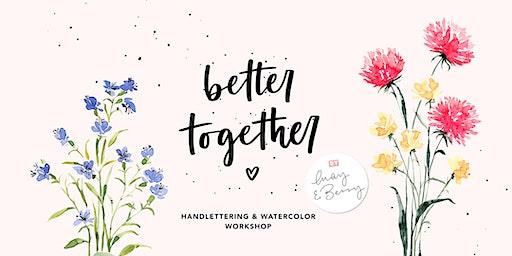Watercolor & Lettering Workshop 25. April 2020