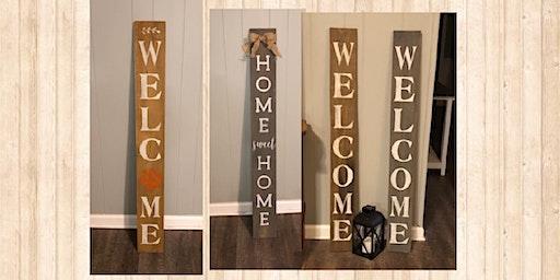 Farmhouse Porch Leaner/Sign Workshop