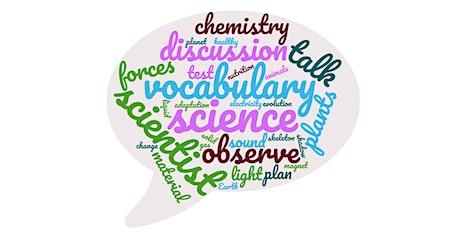Teaching Scientific Vocabulary tickets