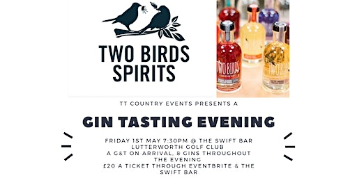 Two Birds Gin Tasting Evening