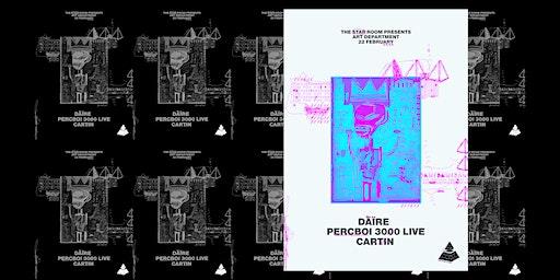 TSRR Presents : Däïre B2B Cartin (Acid Flex) & PercBoi 3000 Live