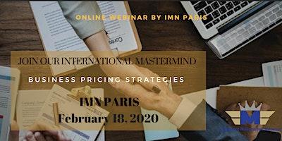 Webinar :  Business Pricing Strategies for Entrepr