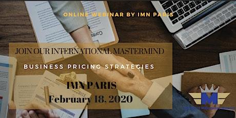 Webinar :  Business Pricing Strategies for Entrepreneurs tickets