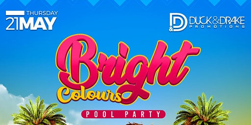 BRIGHT COLOURS POOL PARTY