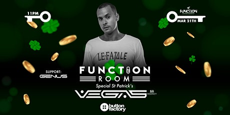 Function present  VEGAS | special St Patrick's tickets