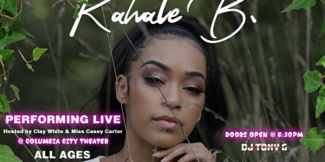 RAHALE B. Performing Live tickets