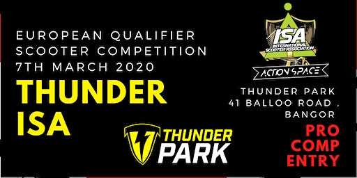*PRO COMP* Ticket for Thunder ISA Sooter competition