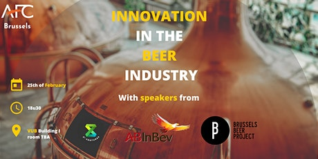 Innovation in the beer industry tickets