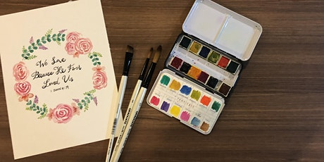 Watercolour Workshop: Fun with Florals tickets