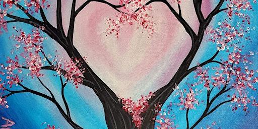 Valentine Tree Family Friendly Paint Class