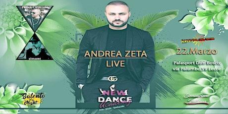ANDREA ZETA in CONCERTO LIVE biglietti