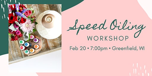 Speed Oiling Workshop