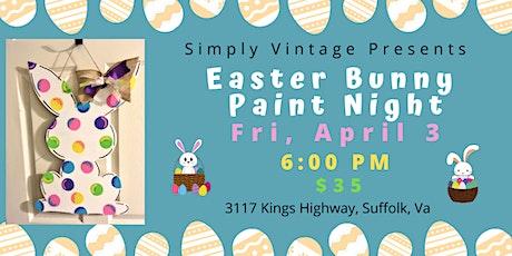 Easter Bunny Door Hanger/Wall Decor Class tickets