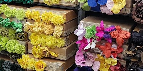 M&S Schmalberg Fabric Flowers Sample Sale tickets