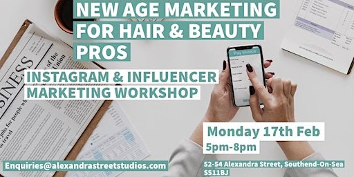 Instagram/Influencer marketing for Hair & Beauty Professionals