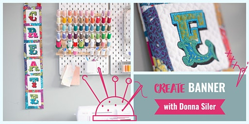 CREATE Banner with Donna Siler