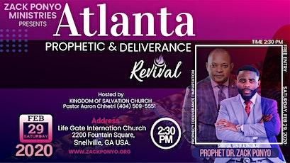ATLANTA PROPHETIC REVIVAL tickets