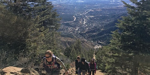 Manitou Incline group hike